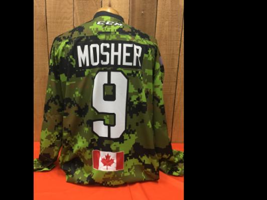 Matthew Mosher #9 Game Worn Jersey
