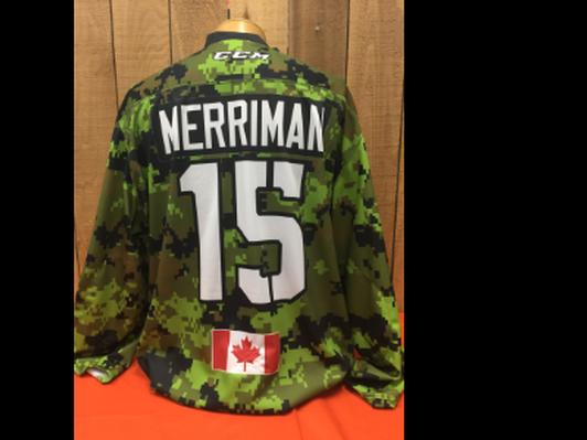 MacKenzie Merriman #15 Game Worn Jersey