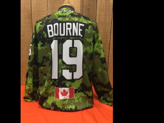 Joshua Bourne #19 Game Worn Jersey