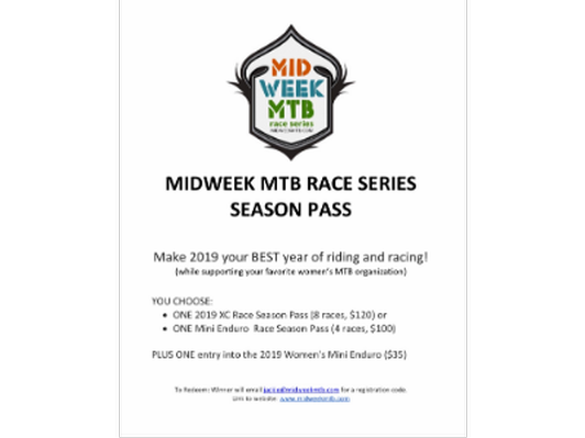 Midweek MTB Race Series Season Pass