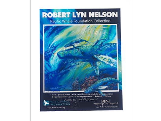 Imperiled Leviathans Poster, signed by Artist Robert Lyn Nelson