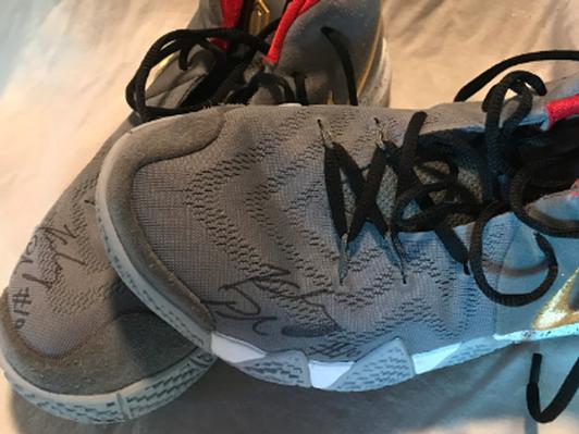 Signed WNBA Kelsey Plum Shoes