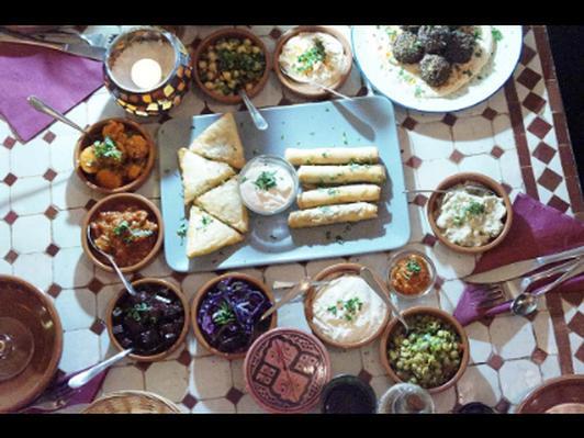 Moroccan-Israeli Dinner Party