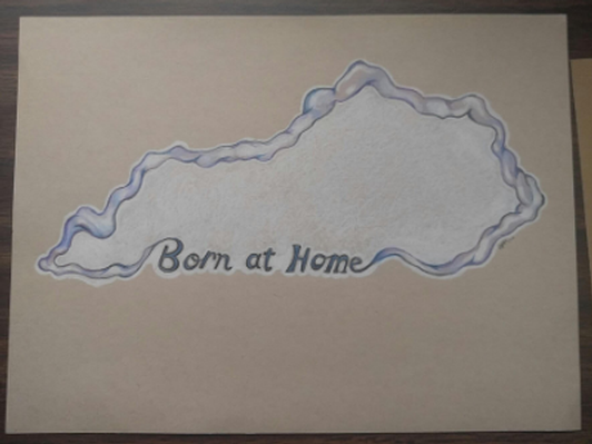 Born At Home Kentucky Art