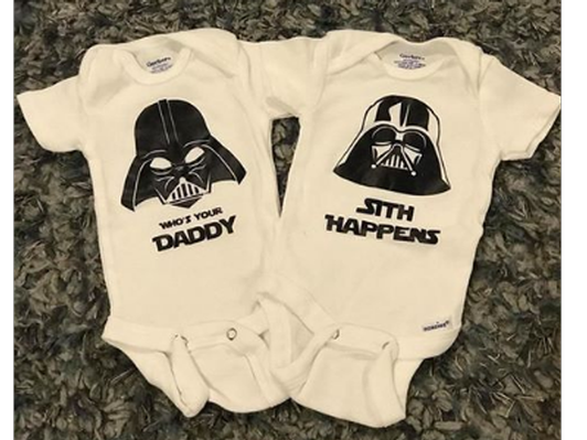 Star Wars Onesies Set of 2