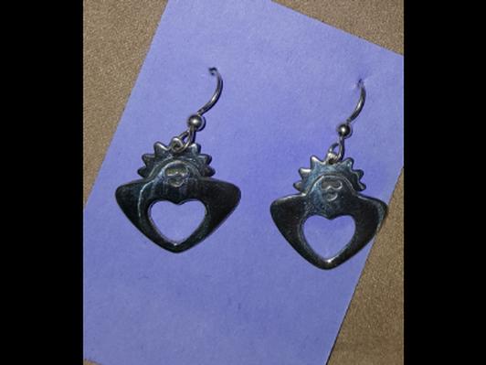 Gardening Angel Earrings