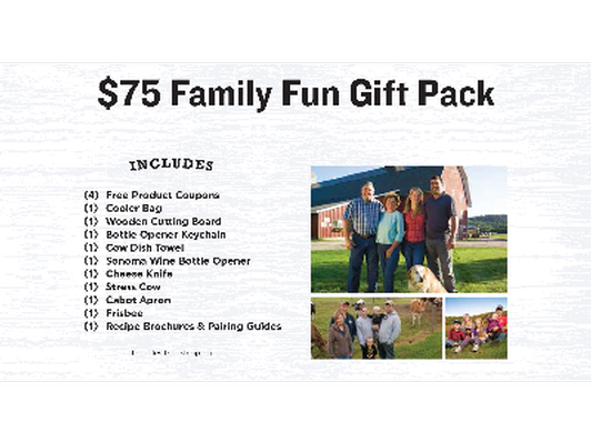 Cabot Family Fun Gift Pack