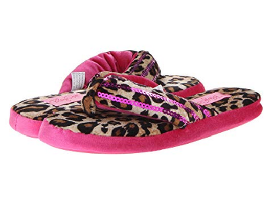 M&F Western Sequin Flip Flop Slippers