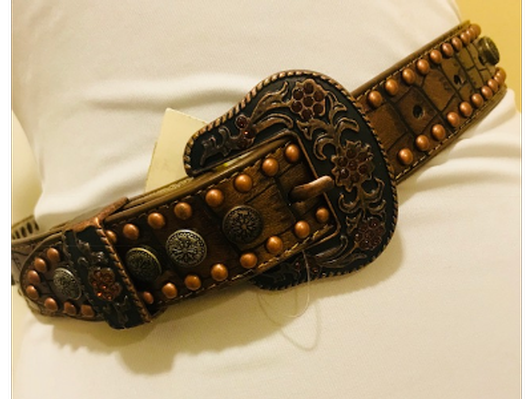Girls Western Belt by Angel Ranch