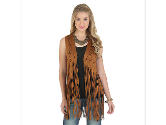 Back in the Saddle Fringe Vest