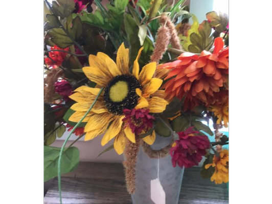 Farmhouse Flowers from Gigi's Gifts on Main