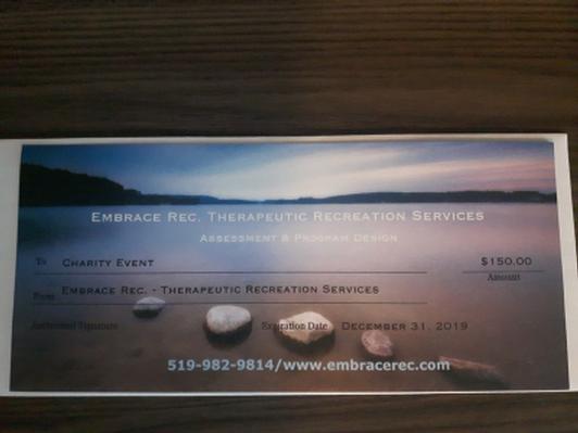 Embrace Rec $150
