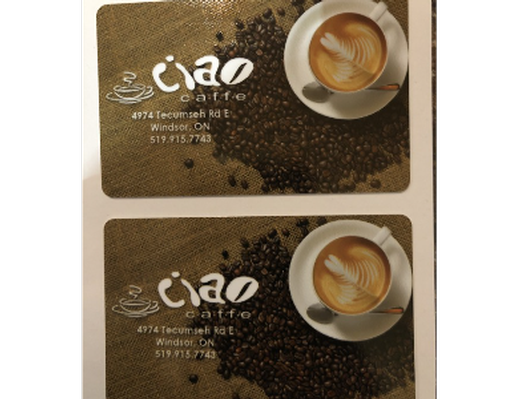 Ciao Caffe $50 Gift Card