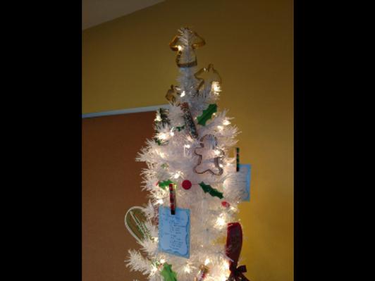 """Baking"" Christmas Tree"