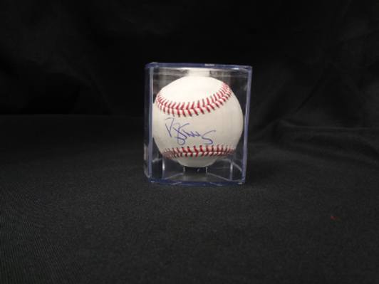 Autographed Daryl Strawberry baseball