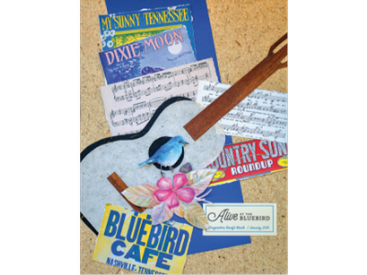 2019 Autographed Alive at the Bluebird Poster