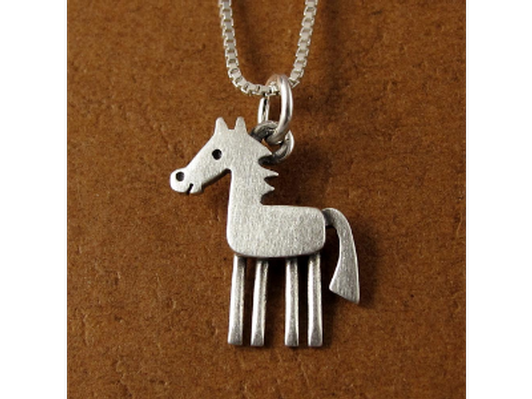 Horse pendant / necklace - new