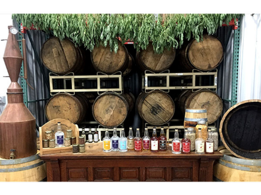 Tour for 10 and Two Bottles of Craft Distilled Liquors