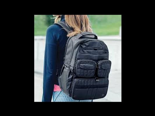 Lug Canada Backpack -- Puddle Jumper in Brushed Blue