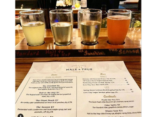 Cidery Tour & Flight For Four at Hale & True