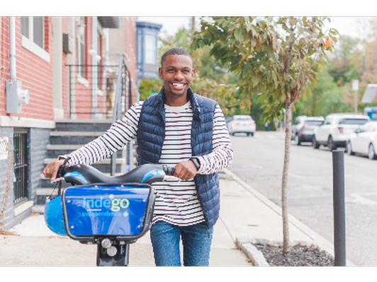 Free Month of Indego Bike Share for Two!
