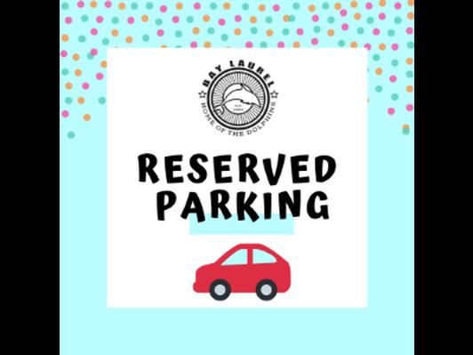 2019-20 Reserved Parking Spot
