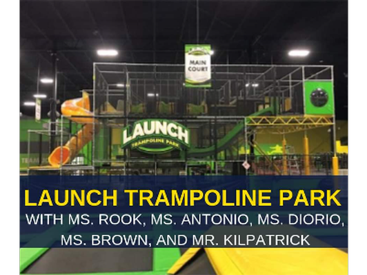 Launch Trampoline Park for 10