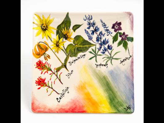 Wildflower Rainbow by Diane Priebe