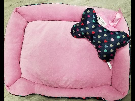 Dog Bed Gift Set