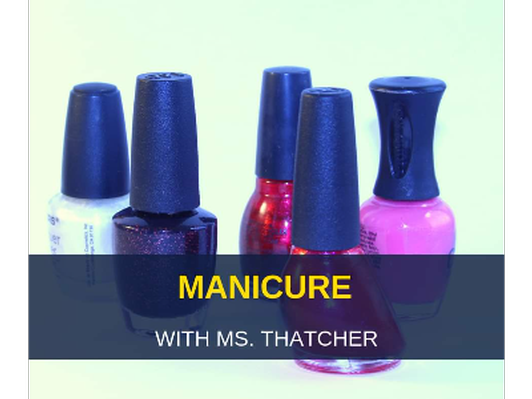 Manicure for 3
