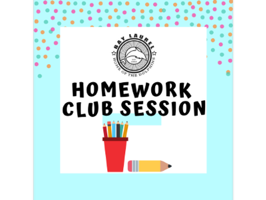 One Session (4 Weeks) at Bay Laurel Homework Club