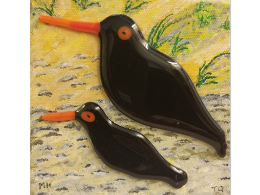 Oyster Catchers by Marilyn Hansen and Tim Quinn