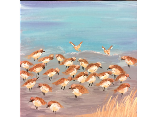 Sandpipers by Kristi Quint