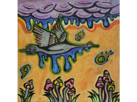 Crane by Luci Maryott