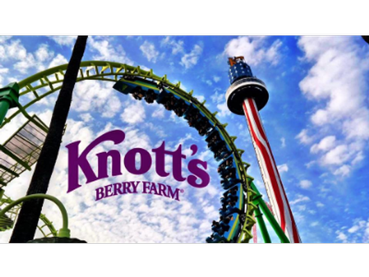 Knott's Berry Farm Family 4 Pack
