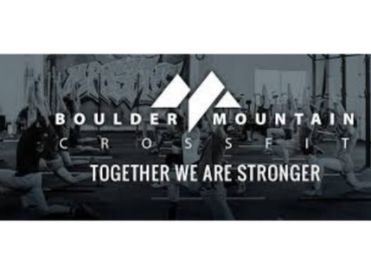 Boulder Mountain Crossfit-1 Mo Unlimited Pass