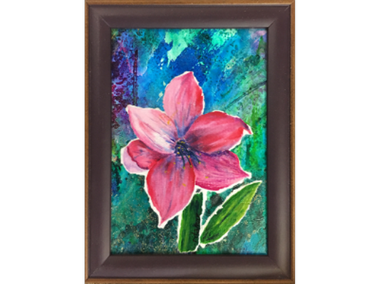 Abstract Flower by Rita Cannon