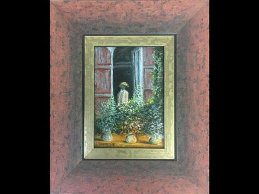 Camille Monet a La Fenetre by Steven Proffer