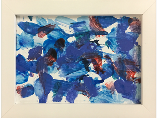 Cardinals and Bluebirds by Riley