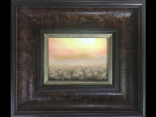 Coneflowers in Sunrise Fog by Grace Blaich