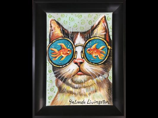 Cool Cat by Yolanda Livingston
