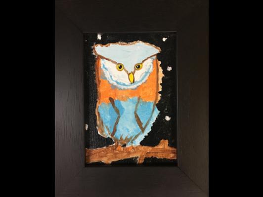 Fluffy Owl by Kennedy Shell