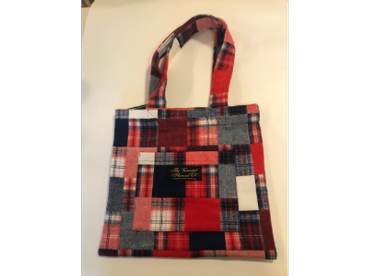 Vermont Flannel for Food Tote Bag
