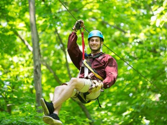 Kerfoot Canopy Tour Zipline Tour