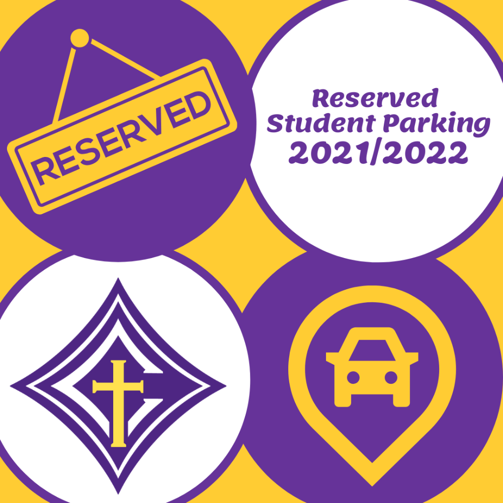 Reserved Parking Space for Student