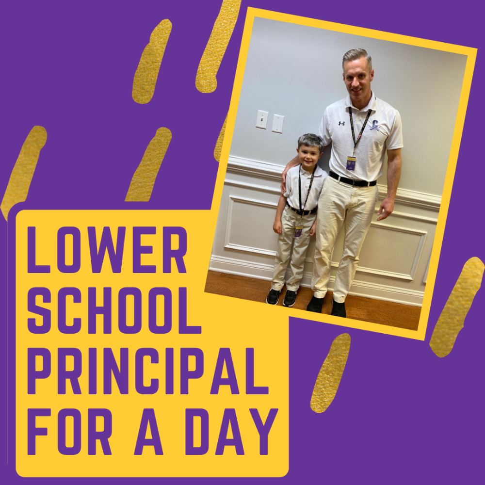 Lower School Principal for the Day with Mr. Almeida