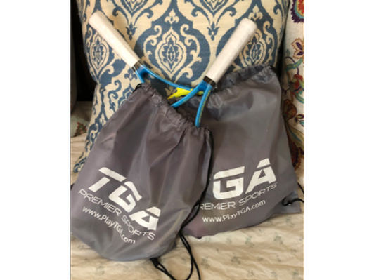 TGA Kids Tennis Racket , Balls and Hats