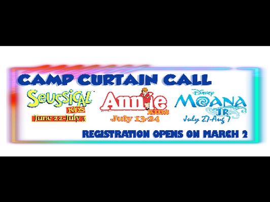 PVPA Camp Curtain Call Summer Camp