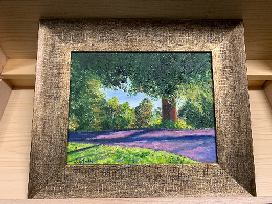 """Lyndhurst Grounds"" by Judith de Toth"