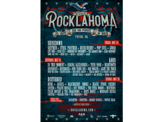 4 pack of weekend tickets to Rocklahoma